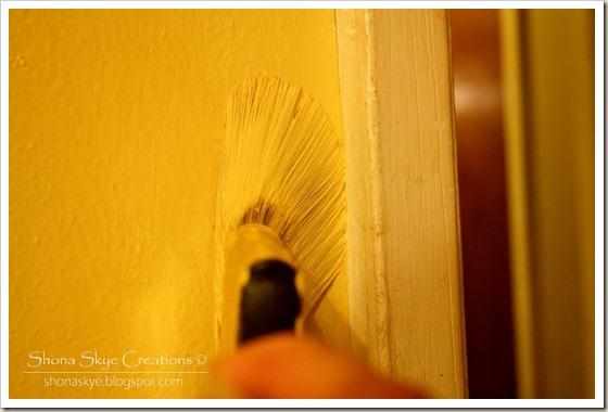 Shona Skye Creations - Painting the Bedroom 008