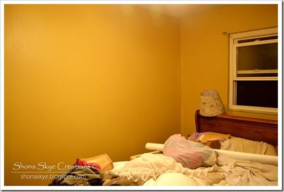 Shona Skye Creations - Painting the Bedroom 009