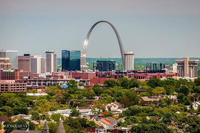 Compton Hill Water Tower, St. Louis, MO, Missouri, historic, architecture, Busch Stadium, The Gateway Arch, St. Louis Cardinals