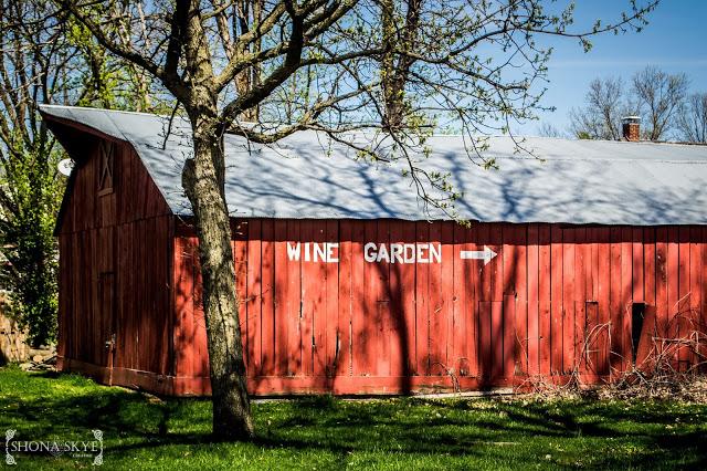 Kimmswick, MO, Missouri, Wine, Garden, Old Barns, Red Barn,