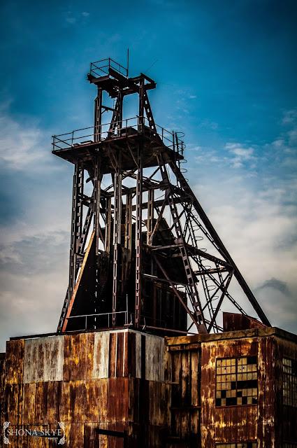 Mining, Mines, Mine, St. Louis, MO, Missouri, Machines, Machinery, Vintage, HDR
